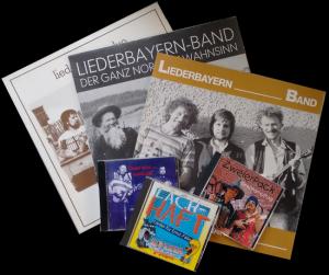 bisher erschienene LP und CD