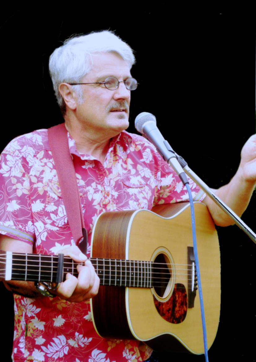 Helmut Achtner Liedermacher mit Gitarre